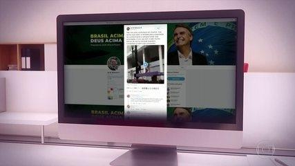 Bolsonaro publica vídeo de conteúdo pornográfico e causa polêmica