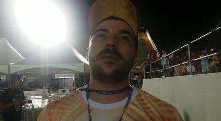 Carnavalesco Tarcísio Zanon, da Estácio, fala sobre o título