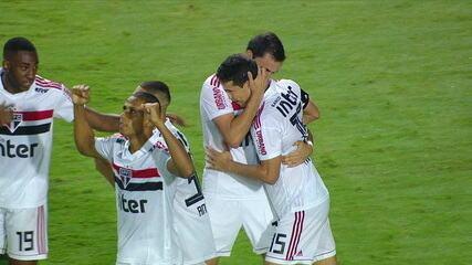 Os gols de São Paulo 1 x 1 Ferroviária pela 10ª rodada do Campeonato Paulista