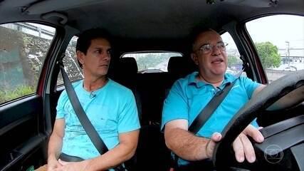 Quatro em cada dez motoristas ainda não usam o cinto de segurança