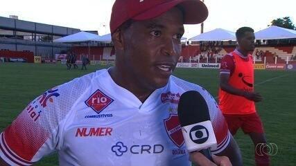 Alan Mineiro comemora vitória e gols contra a Anapolina