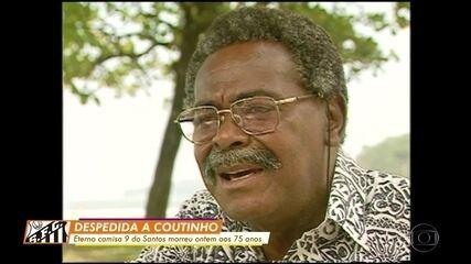 Coutinho, eterno camisa 9 do Santos, morre aos 75 anos