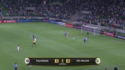 Os gols de Palmeiras 3 x 0 Melgar pela Taça Libertadores 2019