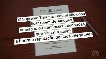 Dias Toffoli anuncia abertura de inquérito para investigar ameaças contra ministros do STF