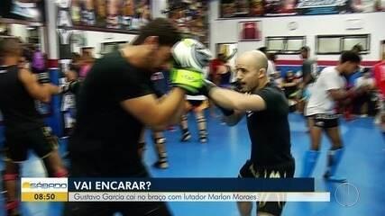 """""""Vai Encarar?"""" aprende técnicas de muay thai com Anderson França e lutador Marlon Moraes"""