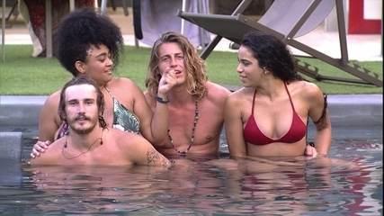 Alberto Mezzetti, Elana, Rízia e Alan cantam 'Garota de Ipanema'