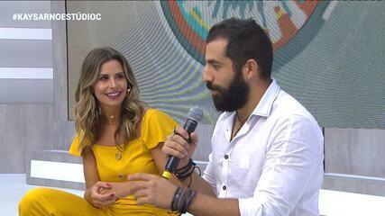 Daiane Fardin e Kaysar falam sobre a estreia da nova trama das seis, Órfãos da Terra