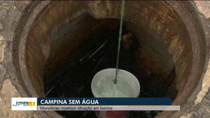 Entenda o que ocasionou suspensão de abastecimento de água, em Campina Grande