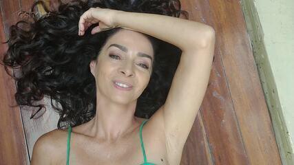 Claudia Ohana manda mensagem para Beto Barbosa