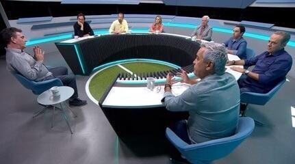 No Grande Círculo, Andrés Sanchez diz que Palmeiras é o grande rival, mas Flamengo o adversário institucional