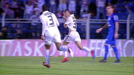 Gol do São Paulo! Antony bate colocado e marca um golaço, aos 24 do 2ºtempo