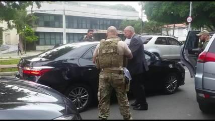 Veja momento em que Temer é abordado pela Polícia Federal em SP