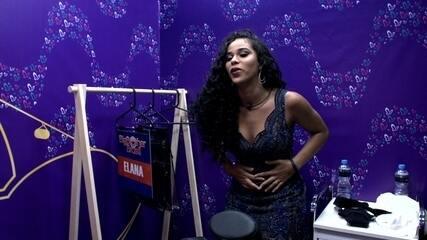 Elana se olha no espelho e grita: 'Que mulher é essa, Brasil?'