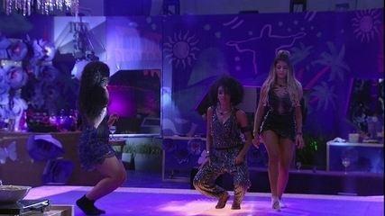 Hariany, Elana e Gabriela dançam ao som de 'Veneno', de Anitta