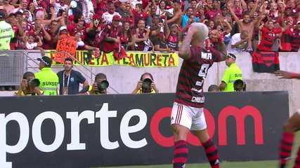 Os gols de Flamengo 3 x 2 Fluminense pela 6ª rodada da Taça Rio 2019