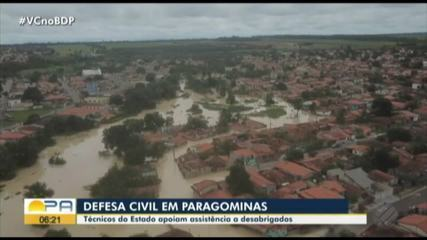 Famílias começam a voltar à rotina após enchentes em Paragominas, PA