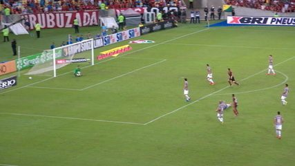 Melhores momentos de Fluminense 1 x 2 Flamengo pela semifinal da Taça Rio