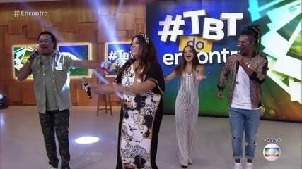 #TBT do Encontro com É o Tchan, Fabiana Karla e Pally Siqueira