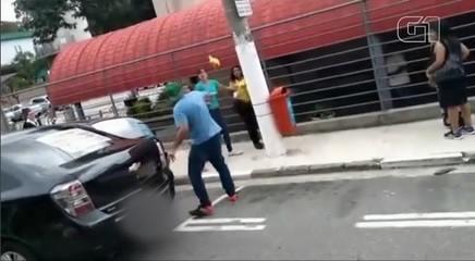 Casal agride agente de trânsito no ABC Paulista