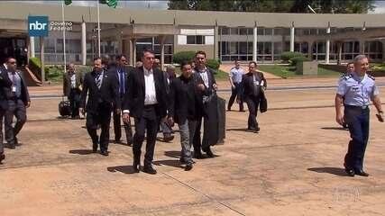 Jair Bolsonaro embarca para Israel, na 4ª viagem internacional desde a posse
