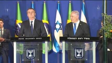 Governo anuncia abertura de escritório comercial em Jerusalém