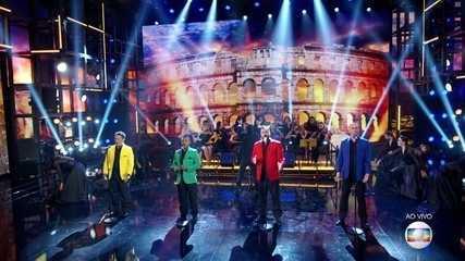 Engana Que Eu Gosto: veja a apresentação dos tenores