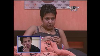 Relembre amizade entre Cida e Thiago no Big Brother Brasil 2004