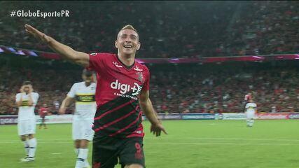 Marco Ruben, a estrela da noite rubro-negra contra o Boca Juniors