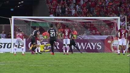 Os gols de Internacional 2 x 2 River Plate pela Taça Libertadores da América 2019