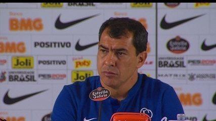 Veja o que o técnico Fabio Carille falou após a partida contra o Ceará