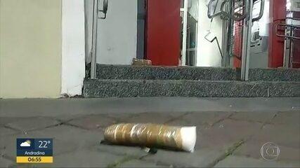 Criminoso faz família refém após tentar roubar banco em Guararema