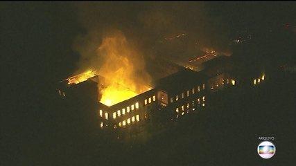 Laudo da PF revela que incêndio em museu no Rio começou no auditório