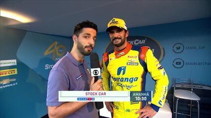 Thiago Camilo comenta sua pole na corrida 500 da Stock Car