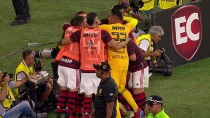 Os gols de Flamengo 1 x 1 Fluminense pela semifinal do Campeonato Carioca