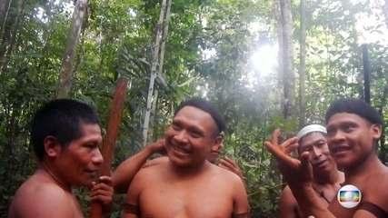 Imagens mostram maior expedição dos últimos 20 anos para fazer contato com índios isolados