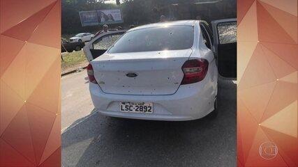 Homem morre depois que carro em que ele estava com a família foi fuzilado pelo Exército