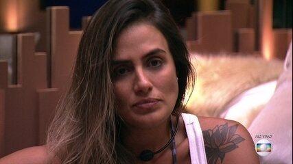 14° Paredão: Paula decide enfrentar Carolina e coloca Hariany na Final do BBB19