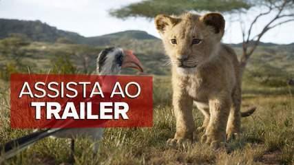 Assista ao trailer oficial de 'O Rei Leão'