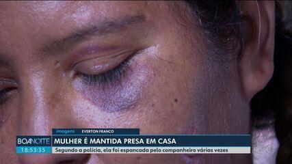 Mulher que foi mantida em cárcere privado conta sobre as agressões que sofreu