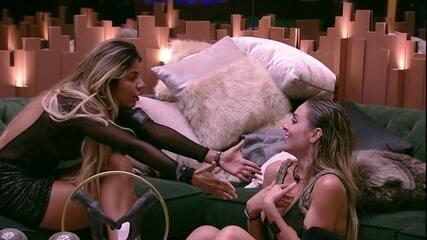 Hariany questiona Paula: 'Não sabe o que é uma amizade?'