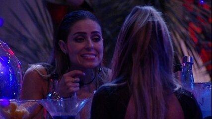 Paula fala para Hariany: 'Eu não estou te magoando porque eu quero'