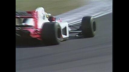 Bandeirada final do GP do Japão de Fórmula 1 de 1991