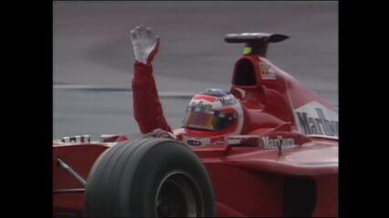Rubens Barrichello vence o GP da Alemanha de 2000