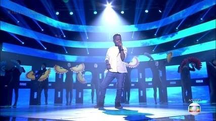 Jeremias Reis canta 'Oh Happy Day'