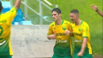 Assista os dois gols do Cuiabá na vitória sobre o Operário VG na final do Mato-grossense
