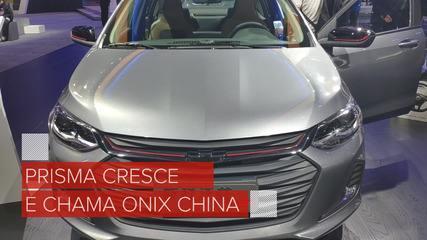 Salão de Xangai: veja o novo Chevrolet Prisma por dentro