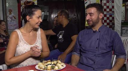 Refugiado sírio Jawad Mizher conta sua história e prepara delícias gastronômicas