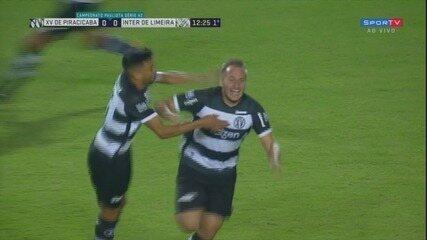 Assista a um dos gols de Gilberto Alemão na Série A2 pelo XV