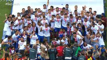 Bahia vence o Bahia de Feira e conquista o título de Campeão Baiano 2019