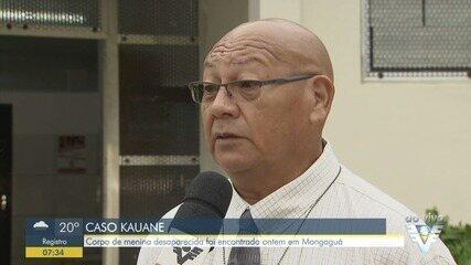 Delegado fala sobre o corpo de menina que foi encontrado na vala, em Mongaguá